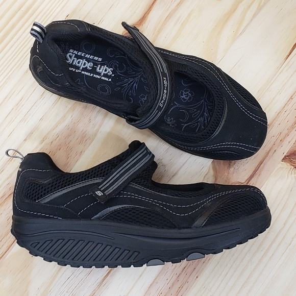 SKECHERS Shape Ups Mary Jane Toning Shoes :918